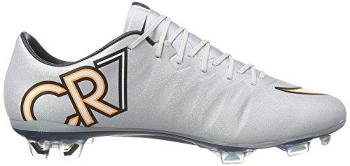 Trq white Slvr De Football Nike Cr Grau Chaussures mtllc hypr brgh Vapor Mercurial X Fg Homme CwnU6Sq