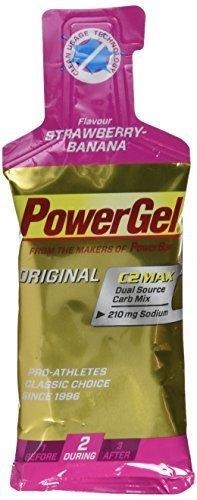 Powerbar Strawberry Banana Powergel Original - 41 g Pouch x 24 Gels by Power Bar -