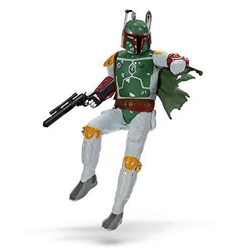 Hallmark Keepsake Christmas Ornament 2018 Year Dated, Star Wars: Return of The Jedi Boba Fett