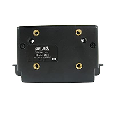 Sirius UC8 Replacement Vehicle Docking Cradle for Sporster, Starmate, Stratus Receivers: Car Electronics