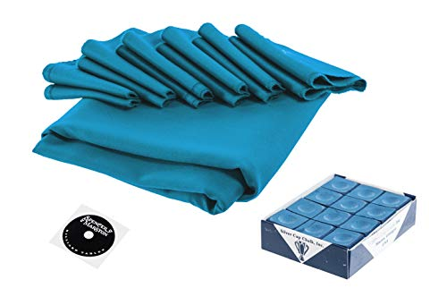 - Spencer Marston Simonis 860 Pool Table Cloth Set 8 ft, Tournament Blue
