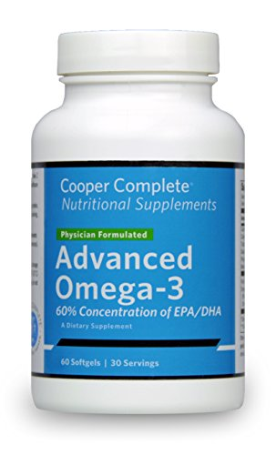 Cooper Complete   Advanced Omega 3  30 Day Supply