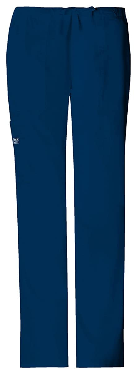 e32feda3624 Amazon.com: Cherokee Women's Classic Fit Drawstring Cargo Pant, 4044P:  Clothing