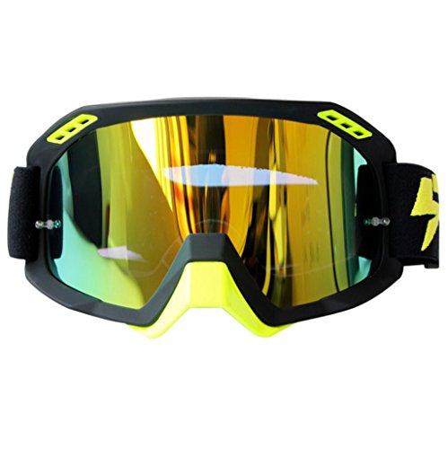 Polvo Lentes Ciclismo Fondo de esquí ya de de de PC Color Impermeables C a Prueba Prueba esquí Gafas explosiones AwIPvn