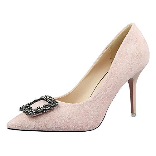 flake-rain-womens-elegant-pointy-shoes-rhinestone-high-heels-shoes35-m-eu-5-bm-us-pink