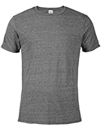 Men's Snow Heather Fitted T Shirt Short Sleeve Crew Neck T-Shirts for Men