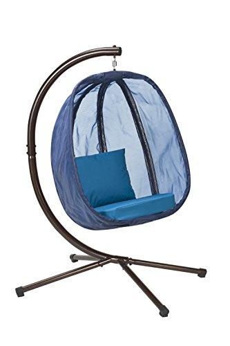 Flower House FHEC100-BRK Egg Chair, Bark