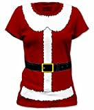 Mrs. Santa Claus Suit Juniors Costume T Shirt