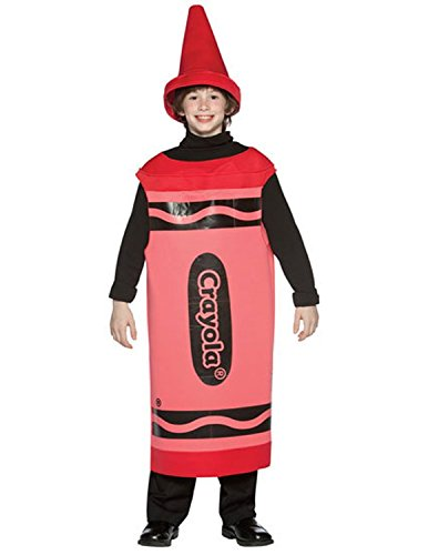 [Crayola Child Costume Size / Color: 10-12T / Red] (Funny Halloween Costumes For Tweens)