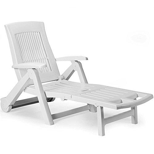 chaise longue plastique amazon
