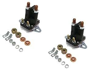 2 Soportes de arranque con 2 orificios para la funda C-266525 C-33025 C33025 de The ROP Shop