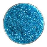 5 Oz Turquoise Blue Transparent Medium Frit - 90 Coe