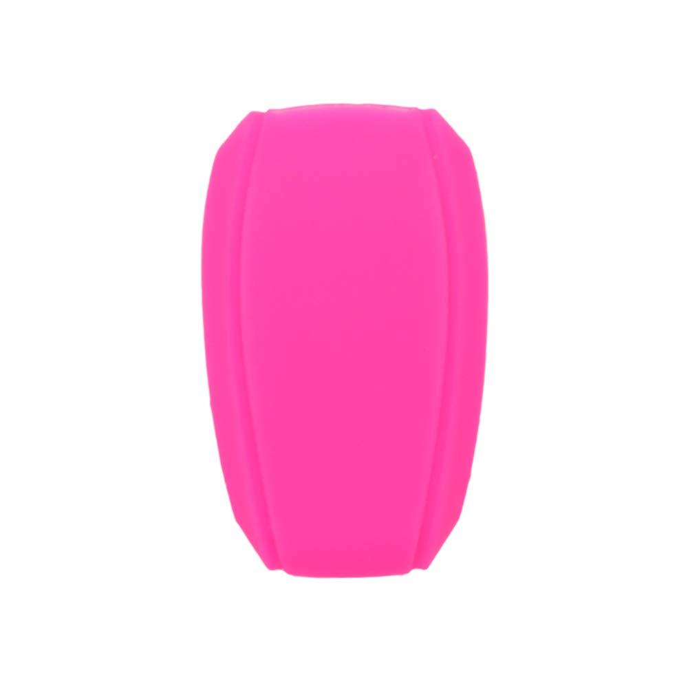 SEGADEN Silicone Cover Protector Case Skin Jacket fit for SUBARU 4 Button Smart Remote Key Fob CV4255 Black