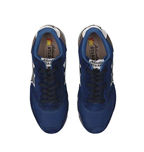 Hommes En Baskets Bleu Étoiles Antarnn81b Atlantique Baskets Daim En xU400a