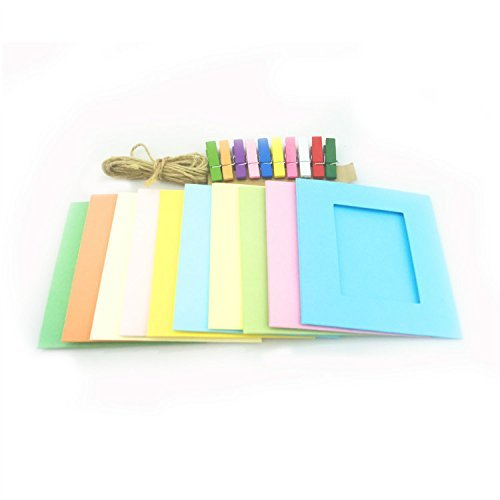 Creative Colored Clothespins Instax Muti Color