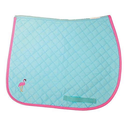 Lettia Embroidered Flamingo Baby Pad