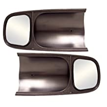 CIPA 10300 Dodge Custom Towing Mirror (Fits Driver/Passenger Side)