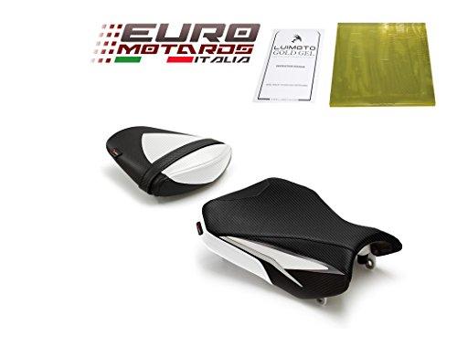 Suzuki GSXR 600 750 2011-2018 Luimoto Team Suzuki Seat Covers Front & Rear + Gel Pad