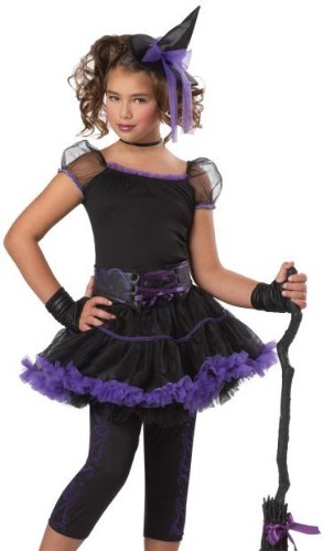 Stardust Witch Child Costume Size Large