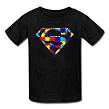 WOOBE Teen Autism Logo T Shirts For Boys / Girls