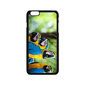 Parrots Hight Quality Plastic Case for Iphone 6