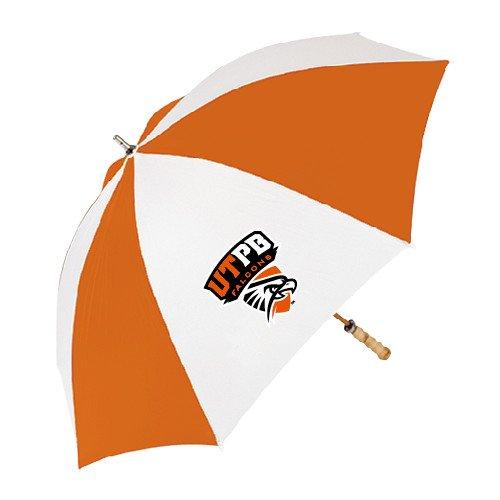 UT Permian Basin 62 Inch Orange/White Umbrella 'Official Logo' by CollegeFanGear