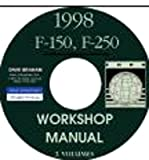 1998 FORD 150 & 250 TRUCK & PICKUP REPAIR SHOP & SERVICE MANUAL CD For All Models