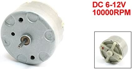 Uxcell DC 6-12V 2mm Shaft 10000RPM Output Cylindrical Micro Electric Motor