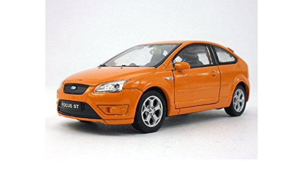 Welly Ford Focus ST Orange 1//36 scale