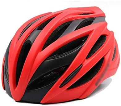 RMXMY 屋外用自転車用ヘルメット男性および女性用マウンテンバイクロードライディング一体成形軽量自転車用ヘルメット機器成人用、軽量ユニセックス (Color : B)