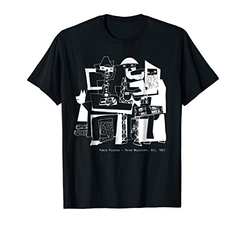 (Pablo Picasso Three Musicians 1921 T Shirt, Artwork)