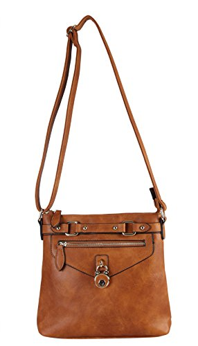 diophy-casual-front-lock-dual-compartments-crossbody-messenger-style-handbag-purse-my-2402-brown