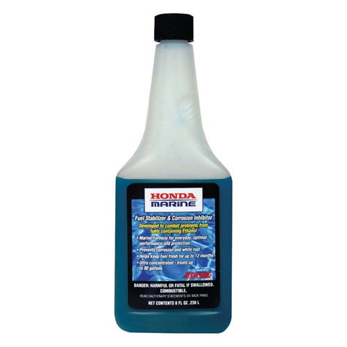 Honda Marine Fuel Stabilizer and Corrosion Inhibitor, 8 Oz.
