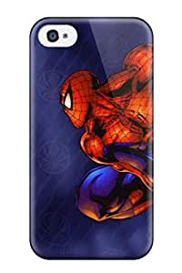 Andrew Cardin's Shop Iphone 4/4s Hard Back With Bumper Silicone Gel Tpu Case Cover Spider-man 4806775K99024907