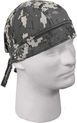 24e2ddb998 Novelty   More Paisley Doo Rag Du Rag Do Cotton Bandana Headwrap PICK COLOR  Chemo Cap ...