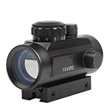 Holographic Red and Green Dot Sight Scope 1X40mm with 11-20mm Rail Mount for Airsoft