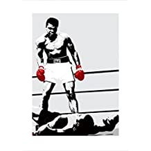 Posters: Muhammad Ali Poster Art Print - The Gloves Of The Winner (32 x 24 inches)