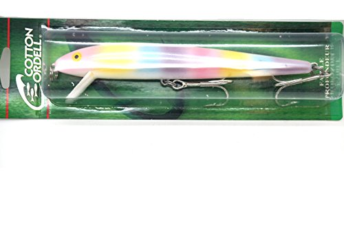 Cordell Redfin 7  Lure Special Color  Wonderbread