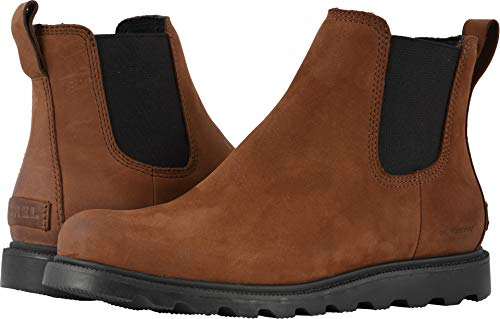 SOREL Ainsley Chelsea Boot - Women's Burro, 8.5 (Leather Gore Side)