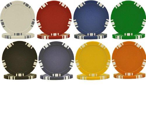25 5-Spot Dual Color 11.5gm Poker Chips - Choose Chips!