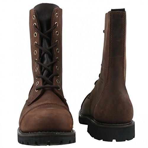 Sendra Women's Combat Boots Brown - Dunkelbraun bfnjlI