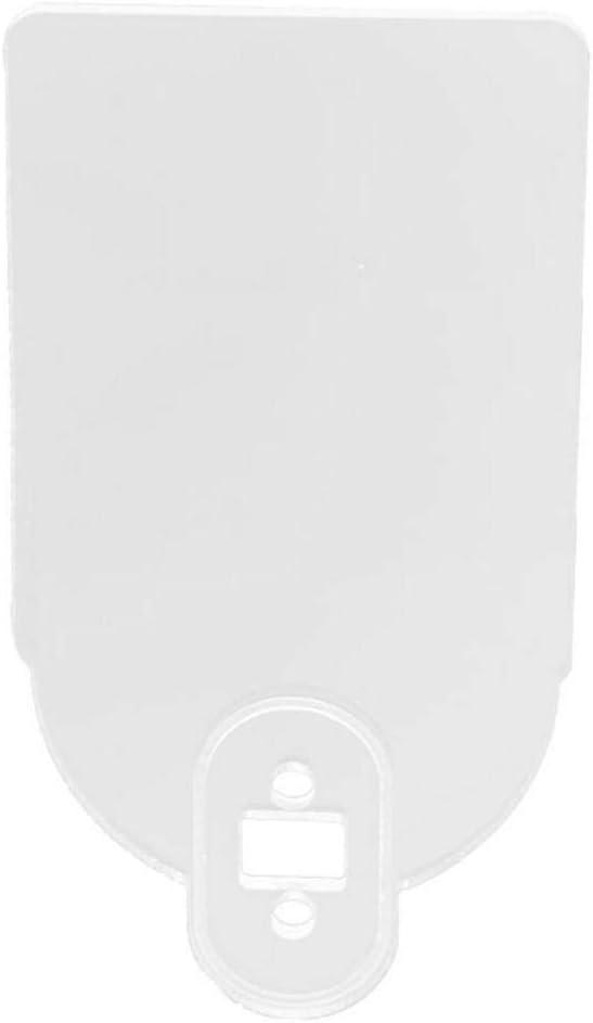 Gravere Scanner de Plaque dimmatriculation en Plastique Signe davertissement de Titulaire de Plaque dimmatriculation pour Xiaomi Mijia M365 Pro Accessoires de Scooter /électrique Impart Classic