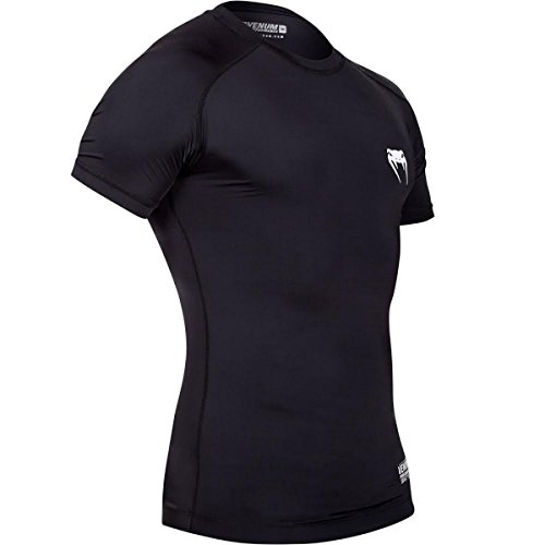 Herren T-Shirt (Thermo) VENUM - Contender 2.0 Compression - Black/Ice - 1326 M