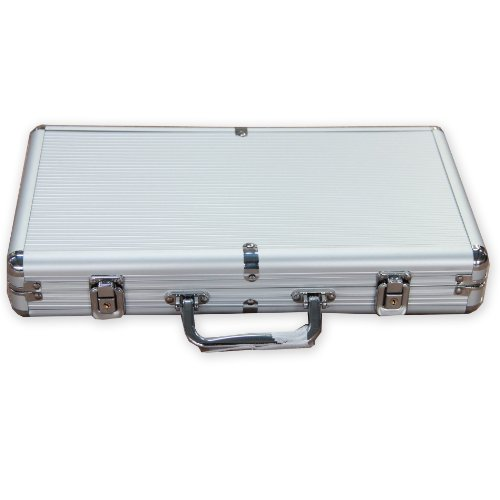 IDS Home 300 Ct Aluminum Poker Chip Case Holder