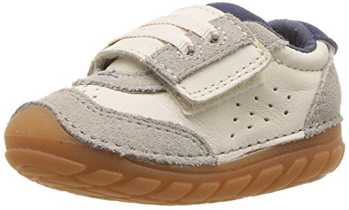 - Stride Rite Boys' Soft Motion Wyatt Sneaker, Stone, 5 Medium US Toddler