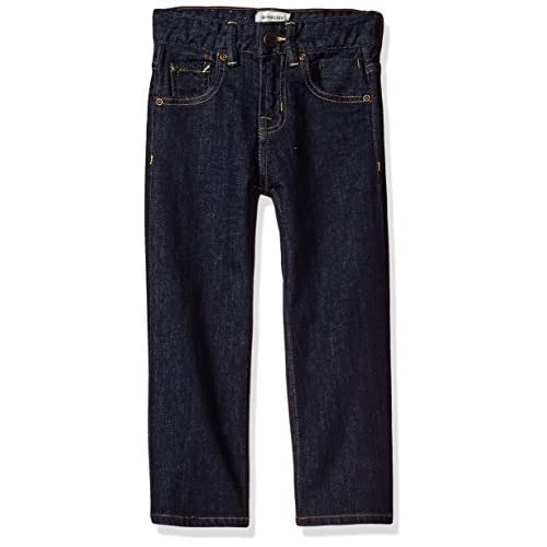 hot sell Quiksilver Little Boys' Sequel Youth Denim Pant, Rinse, 4 for cheap
