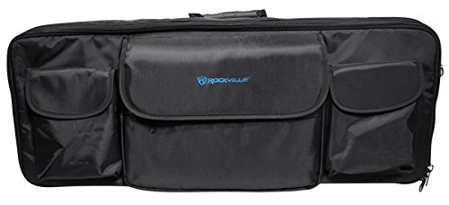 Rockville Carry Bag Backpack Case For Novation Impulse 49 Keyboard Controller by Rockville