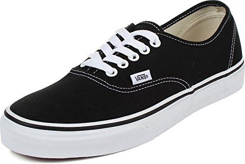 Vans - U Authentic Shoes in Black, 9.5 D(M) US Mens / 11 B(M) US Womens, Black ()