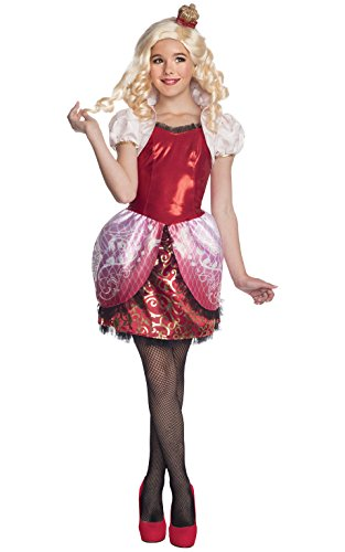 Rubies Ever After High Child Apple White Costume, Child Medium - Apple White Wig