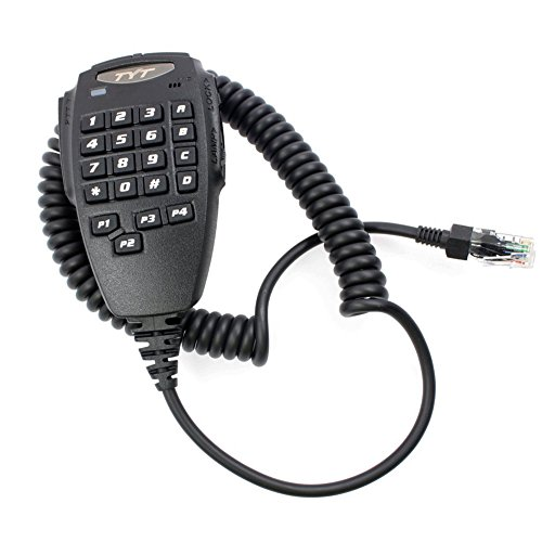 AOER Keypad Speaker Mic Microphone with PTT for Quad Band Transceiver Radio TYT TH-9800